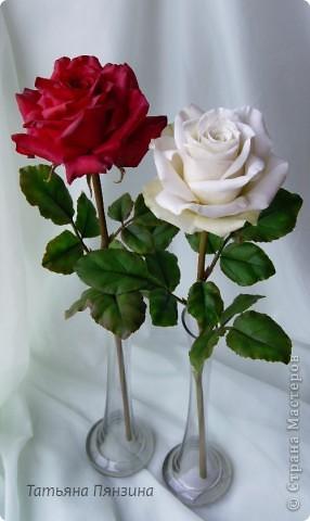 Поделка изделие 8 марта Валентинов день День рождения День учителя Свадьба Лепка розовое настроение  Фарфор холодный фото 18