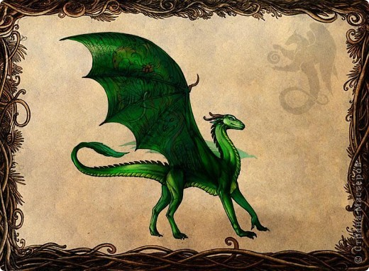 Чтобы уже закрыть тему драконов) Немного о Хаарагах - драконах Луарилла.  Цвет Хаарагов - красный. Их месяц - хааргин - похож на задумчивое пламя - жаркий, сухой, и в то же время жар не иссушает землю, но кажется иллюзией. Иллюзией танцующего рубинового пламени. Кровь Хаарагов превращается в живой Рубин – этот камень способен воскрешать умерших, в творении он – первый камень, замысел мира. фото 3