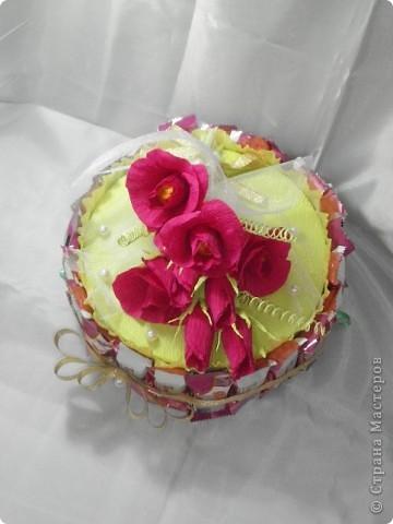 Вот такой тортик я испекла своему братишке на день рождения! фото 1