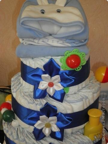 Вот такой тортик я испекла своему братишке на день рождения! фото 5