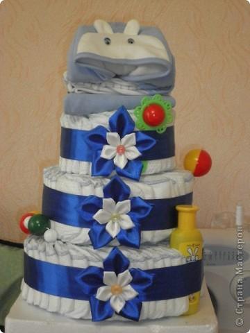 Вот такой тортик я испекла своему братишке на день рождения! фото 4
