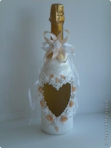 Праздничная бутылка фото 1