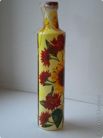 Вазочка из бутылки  фото 9