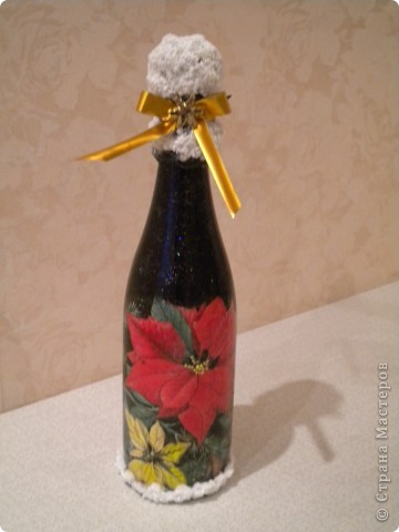 Вазочка из бутылки  фото 12
