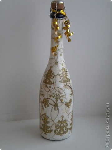 Вазочка из бутылки  фото 14