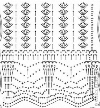 Добрый день, дорогие жители Страны Мастеров! Хочу представить Вам стильную летнюю юбочку с интересным чередованием узоров. На эту работу меня вдохновила дизайнер Флора Мази, которая представила замечательную модель юбки в Журнале мод №534(рукоделие). За что ей огромное спасибо!!! фото 10