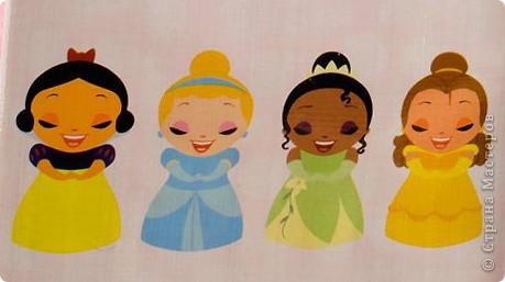 Вот таких принцесс (Золушка, Белоснежка и Аврора из Спящей красивыцы) я придумала сама. фото 2