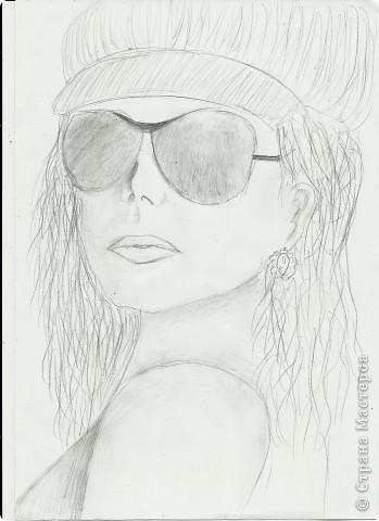 мои первый портрет)))