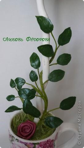 """Всем жителям творческой страны - привет!!!!!!!!!!!!!!! Хочу показать две разноплановые работы. Первая - это вариант фруктового дерева, подарочный вариант))) Второе-текстильное, назвала """"Викторианская роза"""". фото 10"""