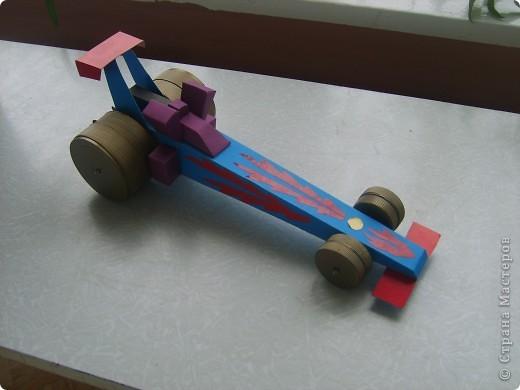 Вот такой гоночный автомобиль. фото 1