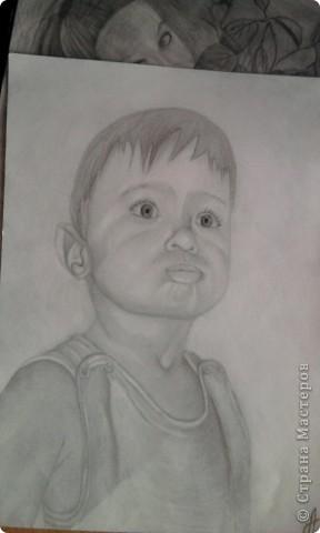 портрет моего младшего брата фото 1