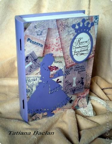 Шкатулочка для хранения рецептов, вырезок из журналов. Очень большая и вместительная. фото 3