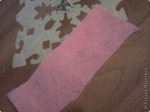 нам понадобится ножницы, ручка, ткань, нитки, игла и шнур (можно ленту) фото 2
