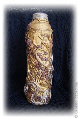 Декоративная бутылка фото 5