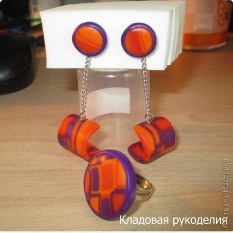 Серьги из пластики фото 5