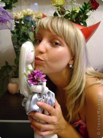 Представляю вашему вниманию Натали! Подарок для дорогой моей подружки :)  Очаровательная, милая блондиночка!  фото 8