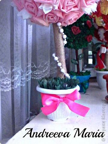 Это деревце сделано на заказ (Для украшения банкетного зала на свадьбе) фото 2