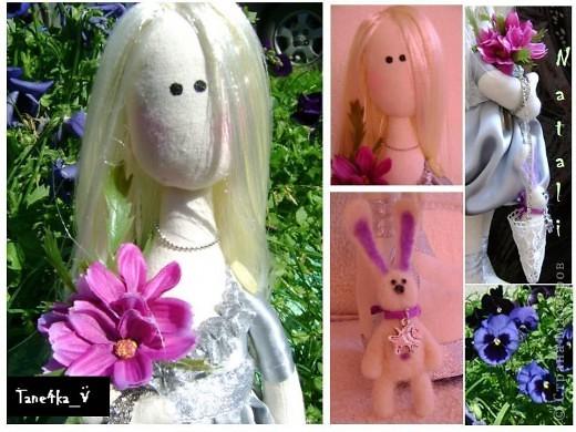 Представляю вашему вниманию Натали! Подарок для дорогой моей подружки :)  Очаровательная, милая блондиночка!  фото 1