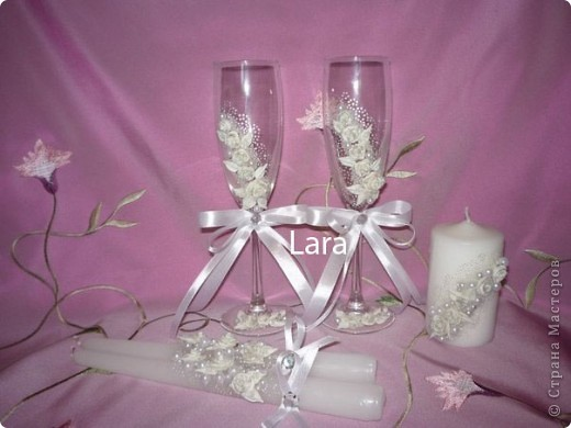 Это мой первый свадебный набор,не судите строго... фото 1