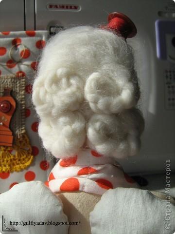 Здравствуйте, дорогие мастерицы! Сегодня я покажу мою вдохновительницу))) швейного ангела. Из всех тильд, мне понравилась больше всего она. фото 3