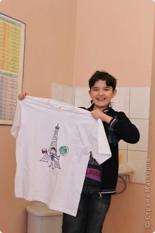 такие майки получились у нас в подарок мальчишкам на 23 февраля (да, давно...) фото 5