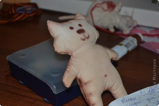 Моя третья по счету игрушка. Примитив-котик Нестер. фото 1