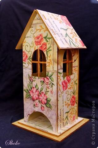 Домик для чайных пакетиков.Выполнен на заказ. фото 3