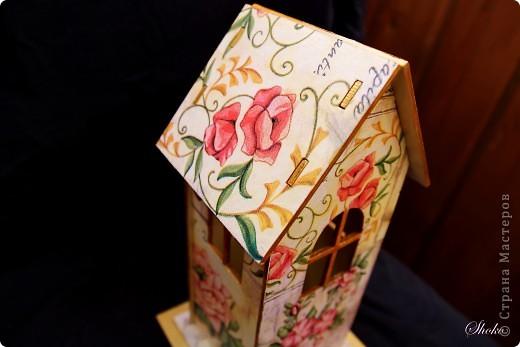 Домик для чайных пакетиков.Выполнен на заказ. фото 6