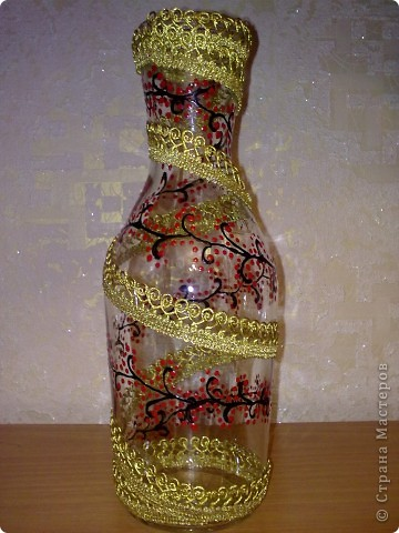 Декор вазы своими руками с фото