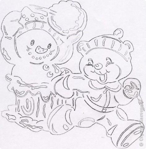 Картина панно рисунок Новый год Вырезание Зимние картинки Бумага фото 7.