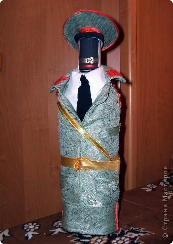 Декор предметов День рождения Свадьба Аппликация Декор бутылок Бисер Клей Нитки Ткань фото 2.
