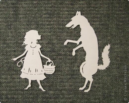 серый волк рисунок: