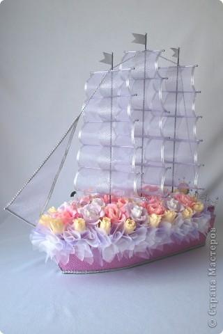 Корабль своими руками на свадьбу пошаговое фото 5