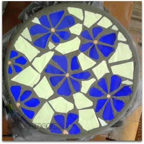 Как делать мозаику из плитки своими руками