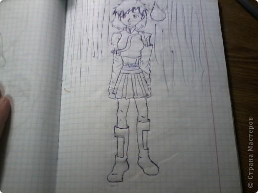 Мои старые аниме рисунки фото 2