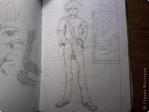 Мои старые аниме рисунки фото 3