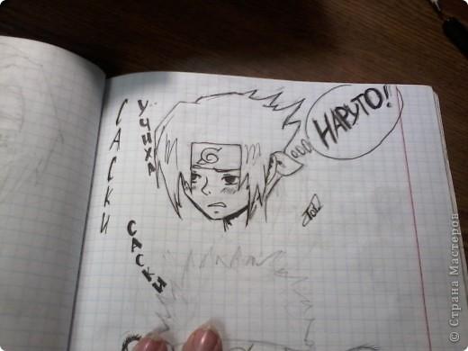 Мои старые аниме рисунки фото 5