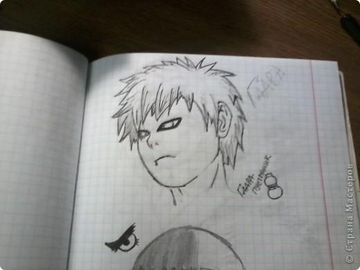 Мои старые аниме рисунки фото 4