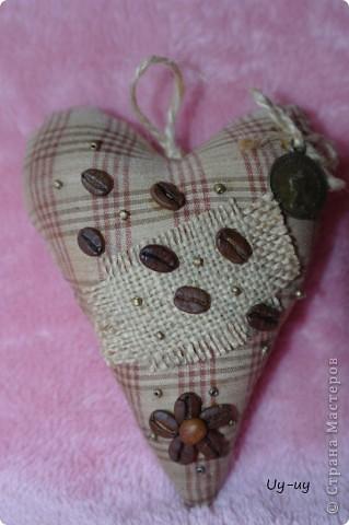 Сшились у меня несколько кофейных сердечек фото 4