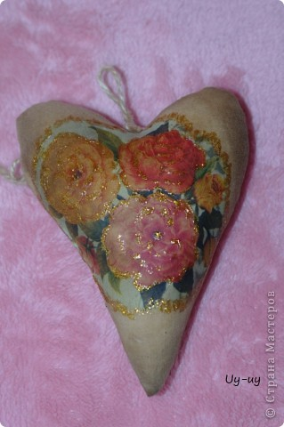 Сшились у меня несколько кофейных сердечек фото 7
