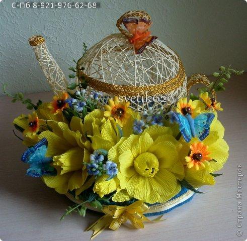 Эх чайники мои чайники ,вот сделала в другом цвете)   фото 4