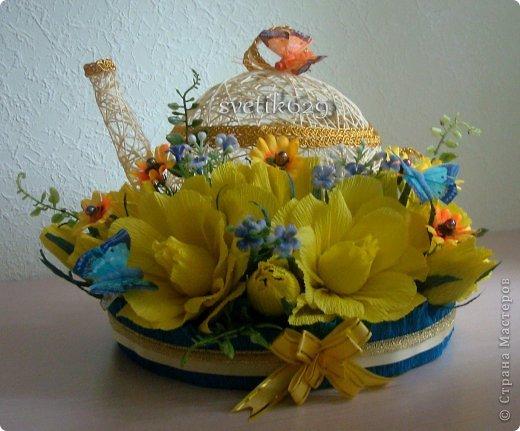 Эх чайники мои чайники ,вот сделала в другом цвете)   фото 5