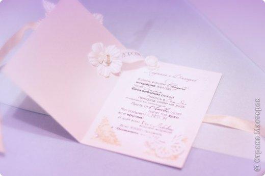 Моя первая свадебная открыточка для подруги фото 4