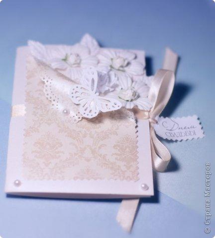 Моя первая свадебная открыточка для подруги фото 2