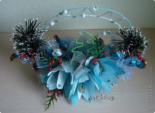 Чудное оформление для праздничного стола или сувенир подарок . ЗИМНЯЯ СКАЗКА фото 2