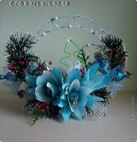 Чудное оформление для праздничного стола или сувенир подарок . ЗИМНЯЯ СКАЗКА фото 1
