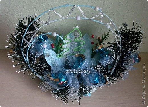 Чудное оформление для праздничного стола или сувенир подарок . ЗИМНЯЯ СКАЗКА фото 3