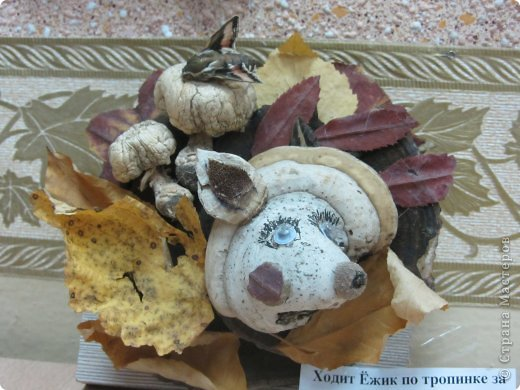 Каждый год на базе Станции юных натуралистов в городе проходит выставка поделок из природного материала. фото 14