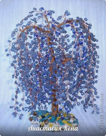 Дерево из бисера (№2) фото 3