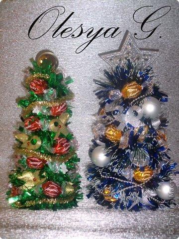 Здравствуйте жители Страны Мастеров! А вы помните, что скоро Новый год и пришла пора нам постараться сделать этот праздник еще прекрасней, вкусней и долгожданней? Хочу поделиться с вами своими ёлочками.  фото 1